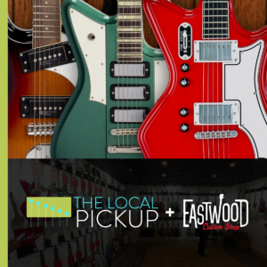 eastwood guitars custom shop on the local pickup