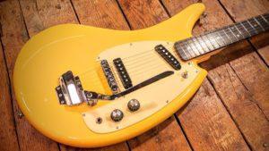 eastwood banana guitar