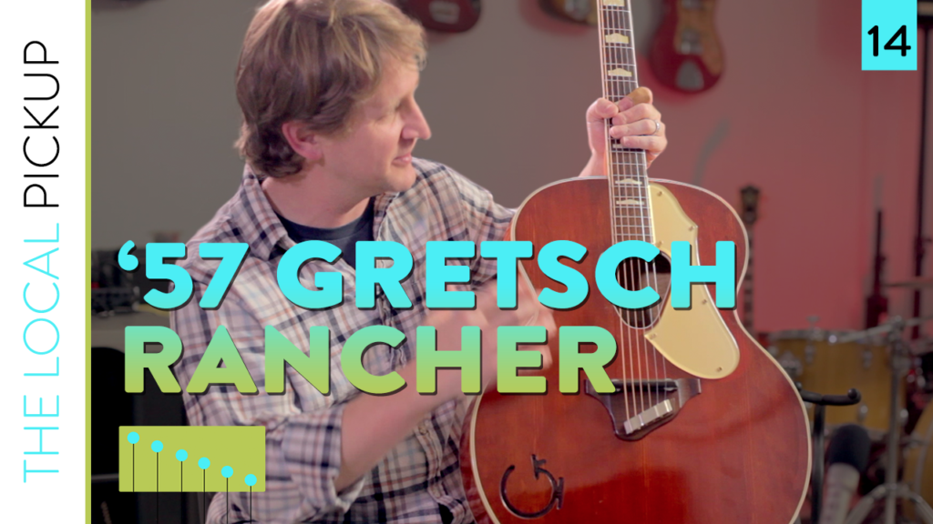 1957 Gretsch Rancher Acoustic Guitar