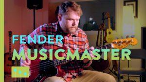 Fender Musicmaster Bass Guitar