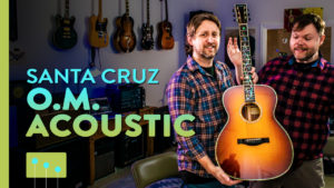 Santa Cruz Acoustic Guitar