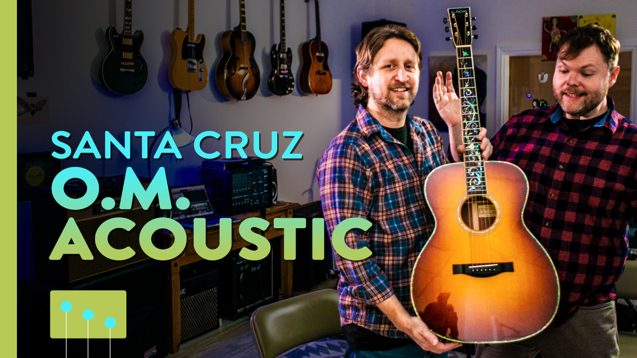 Santa Cruz Acoustic Guitar