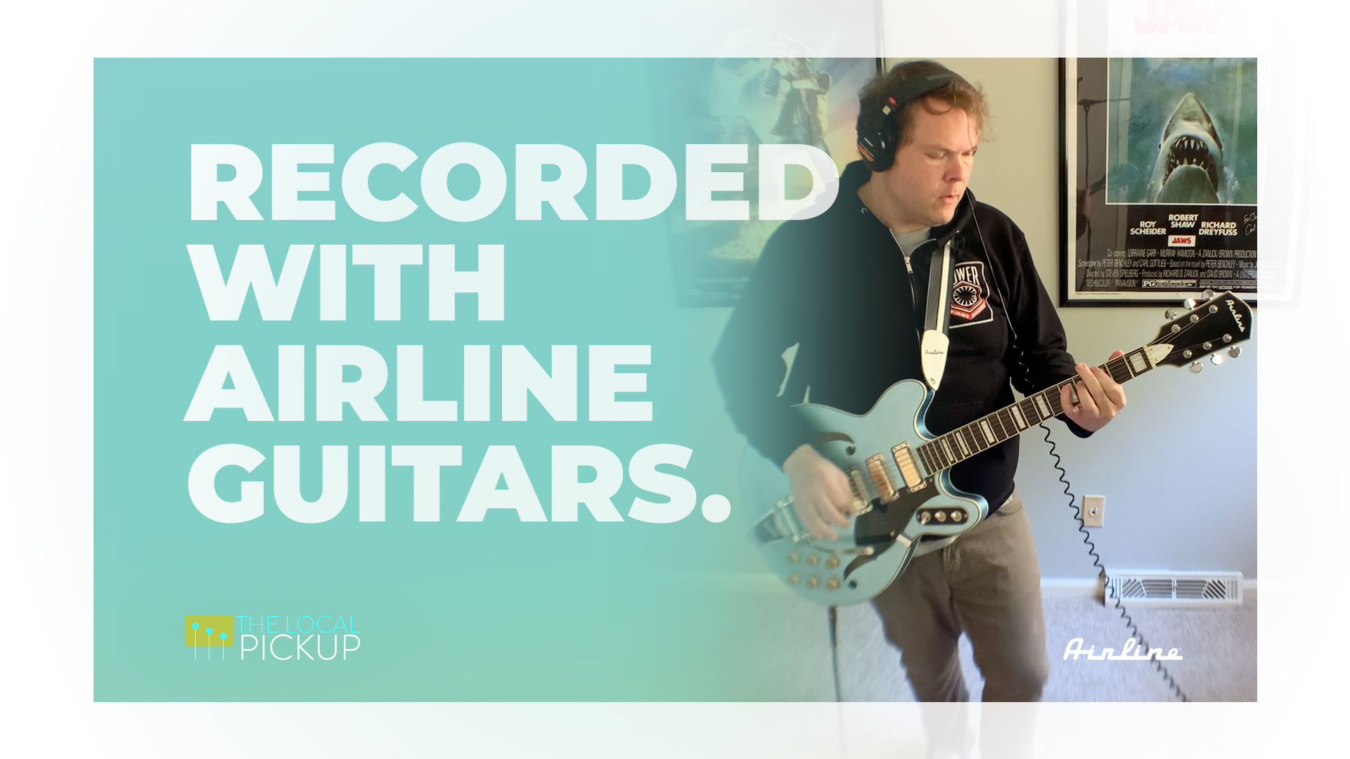 Recorded with Airline Guitars Chris Gervais