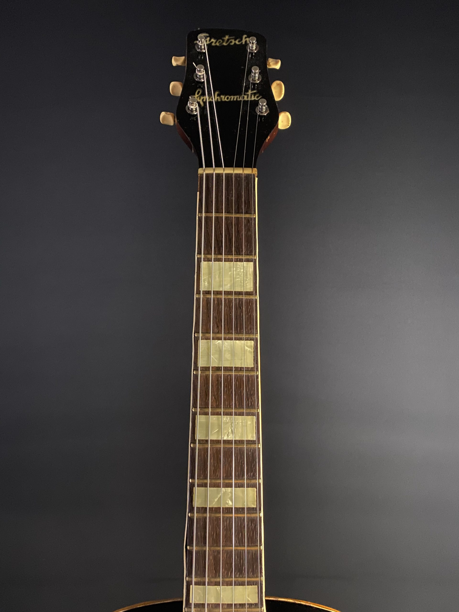 1952 Gretsch Synchromatic Archtop Vintage Guitar 03