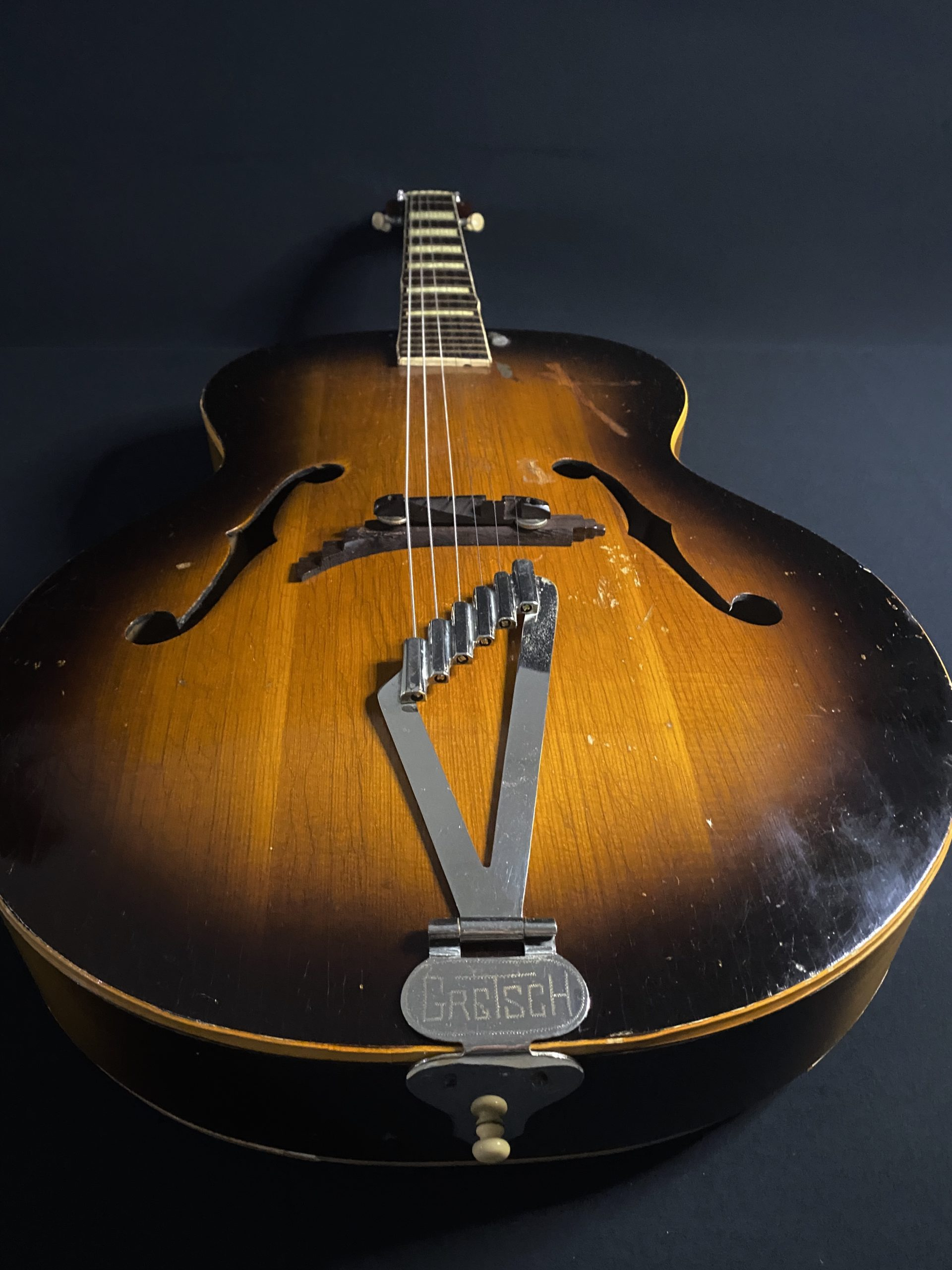 1952 Gretsch Synchromatic Archtop Vintage Guitar 07