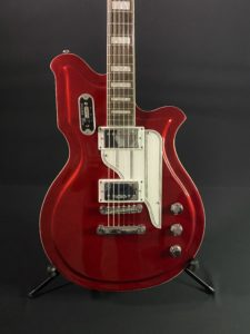 Used Airline Guitar Red 03