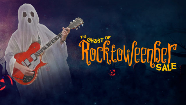 halloween guitar sale