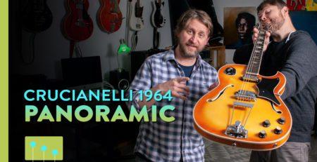 1964 PANoramic Semi-Hollow Electric Guitar