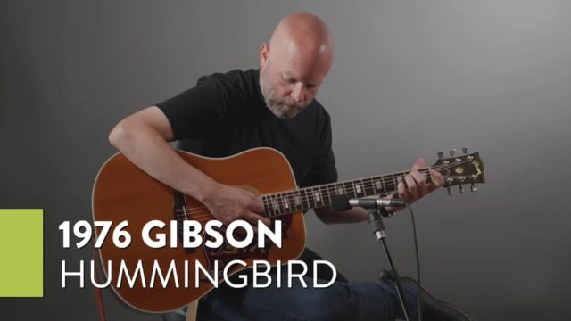 Demo of a 1976 Gibson Hummingbird