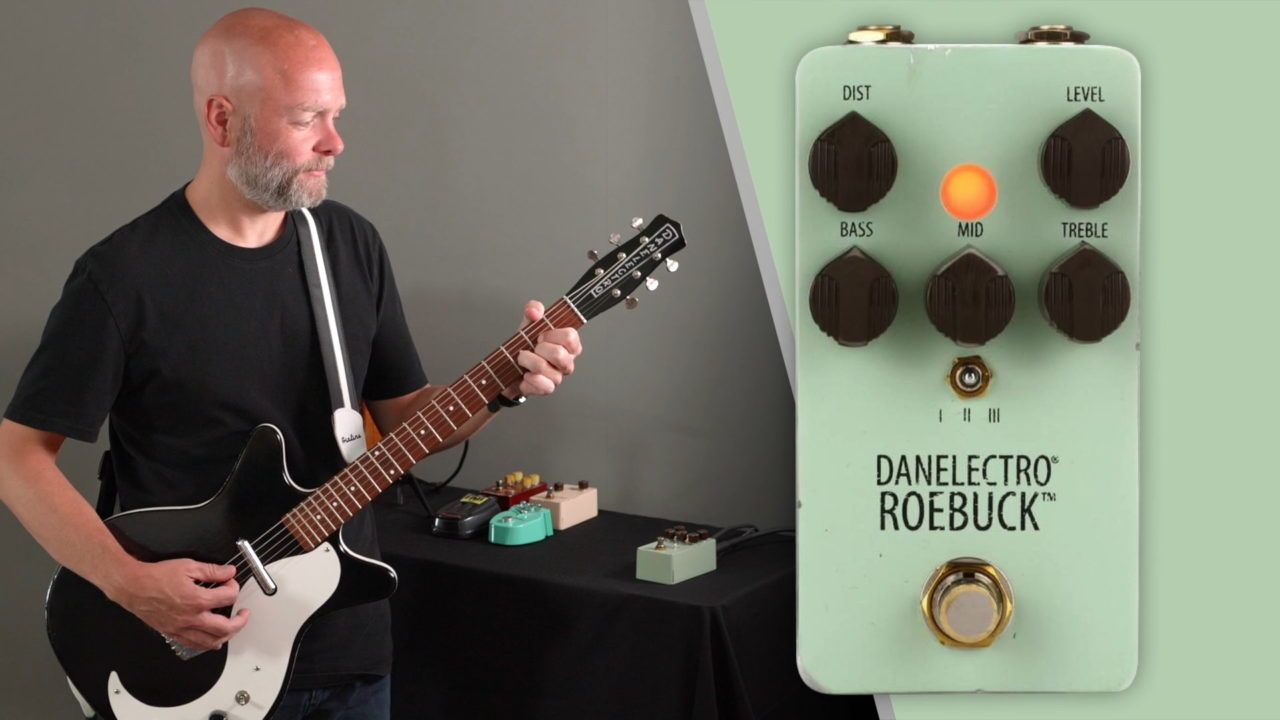 Danelectro Roebuck Distortion Pedal