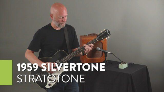 1959 Silvertone Stratotone
