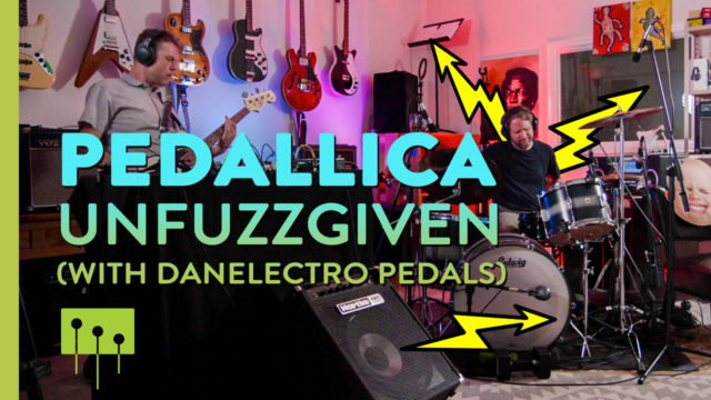 Getting Sounds on an Eastwood Bass and Danelectro Pedals